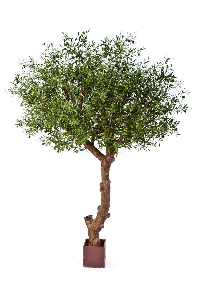 Kunstplant op stam