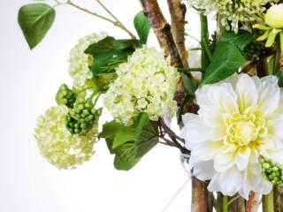 Sfeerdecoratie interieurbeplanting sfeer wit