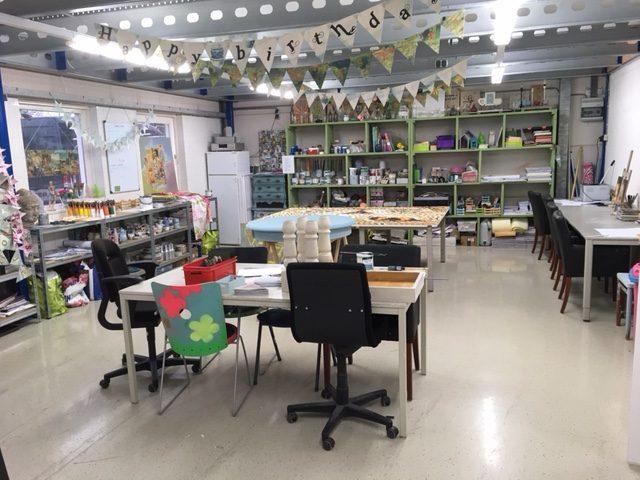 Verjaardag klaslokaal