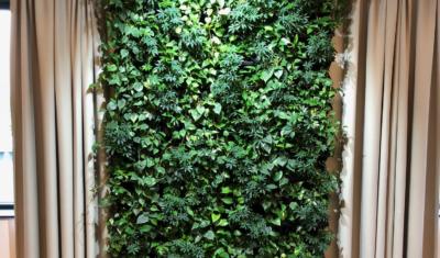 Plantenwand vergaderkamer Ten