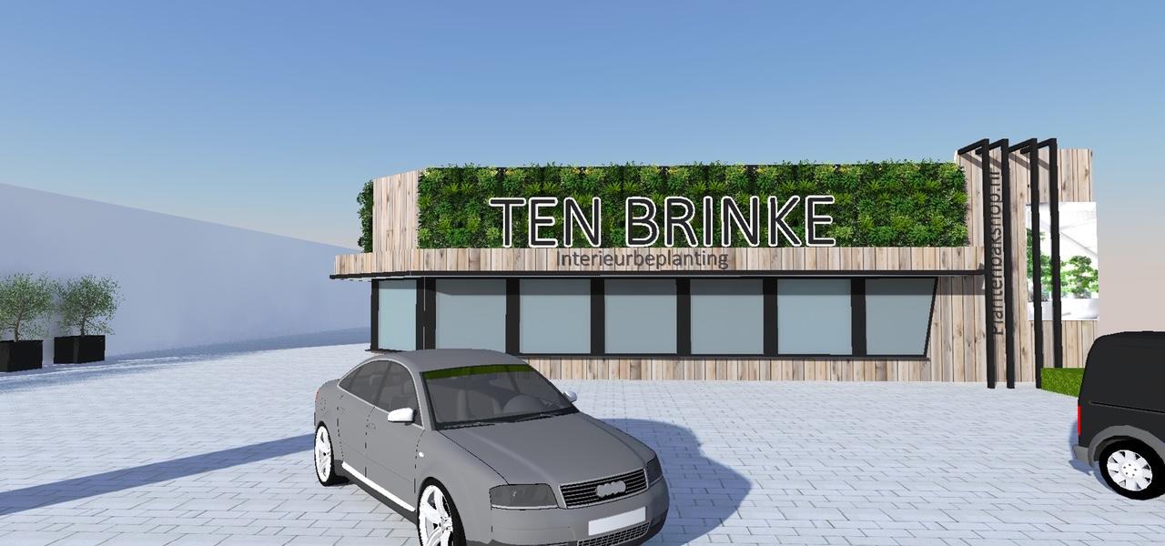 Nieuw Pand Ten Brinke Interieurbeplanting