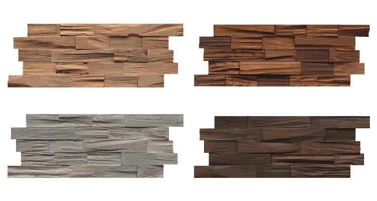 Axewood verzameling houtsoorten