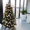 KunstKerstboom-wit-goud-zilver