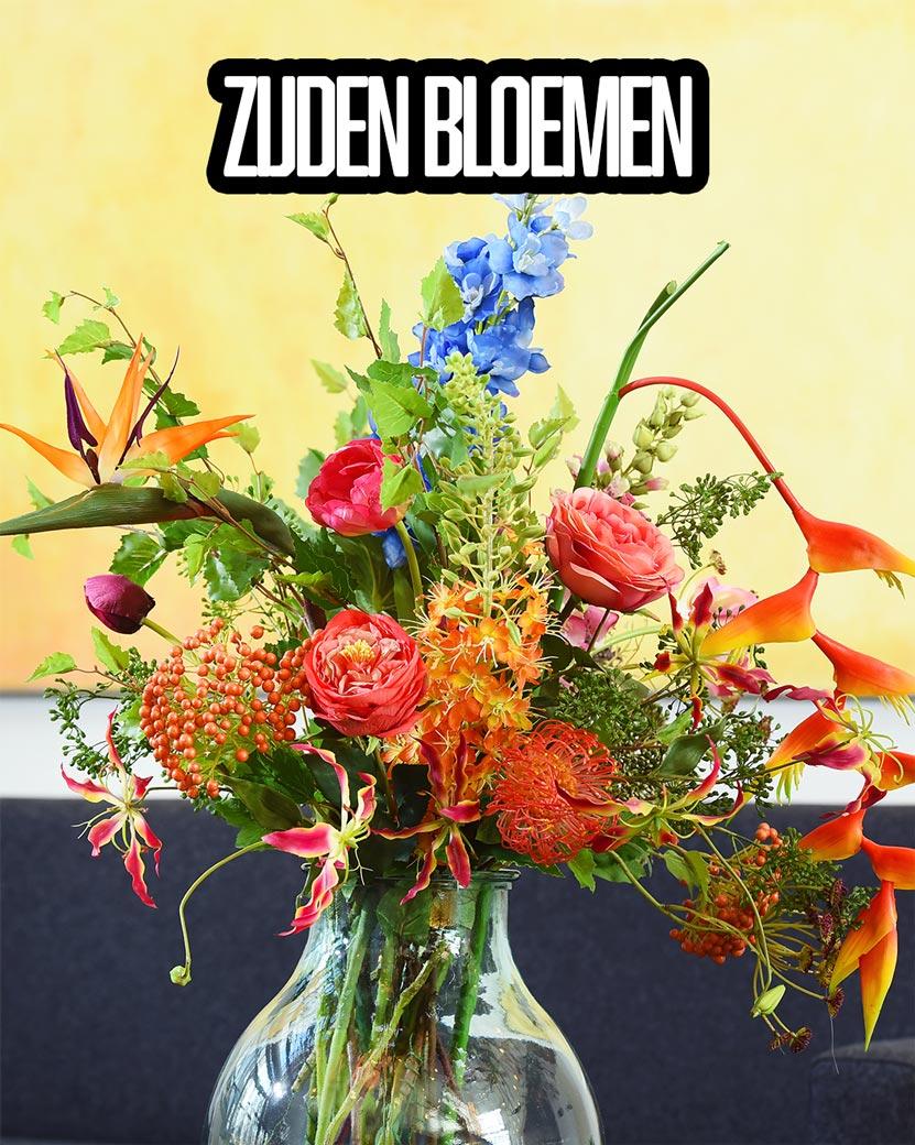 Kunstzijde bloemen abonnement