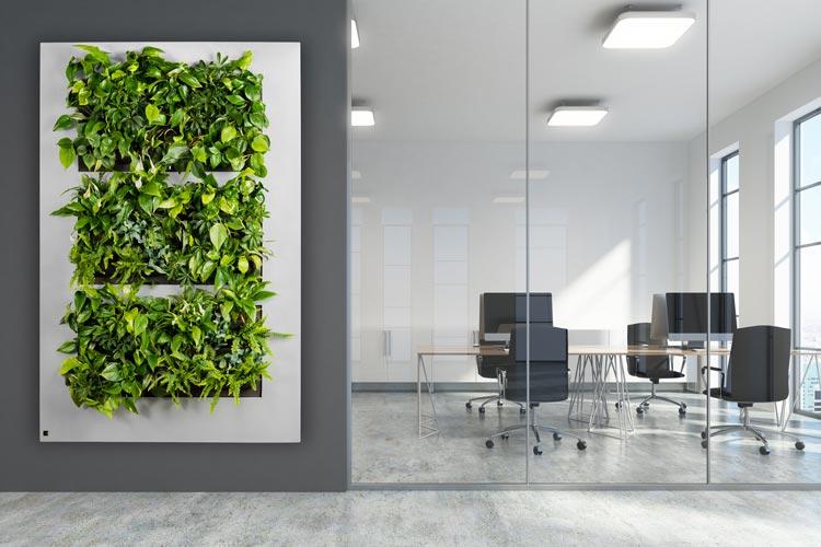 Plant schilderij