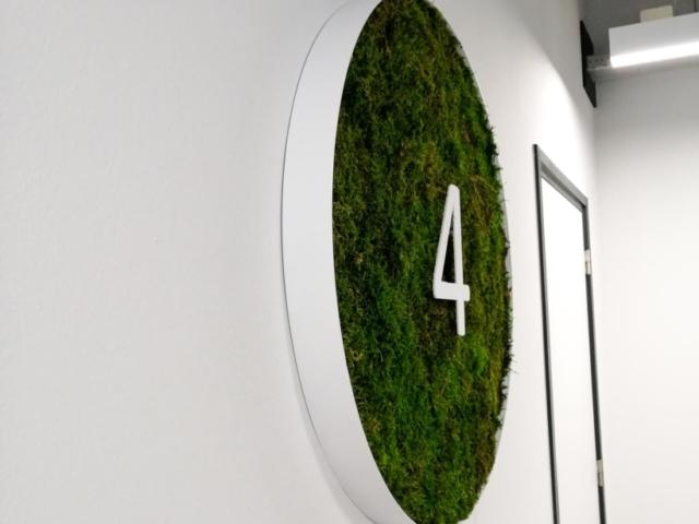 Verdieping aanduiding mos