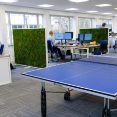 Mosdivider oplossing social distancing kantoor