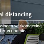 Interieurbeplanting oplossing social distancing kantoor