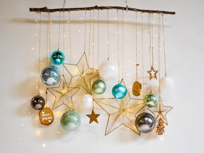 Kerst tak sterrenhemel kleuren