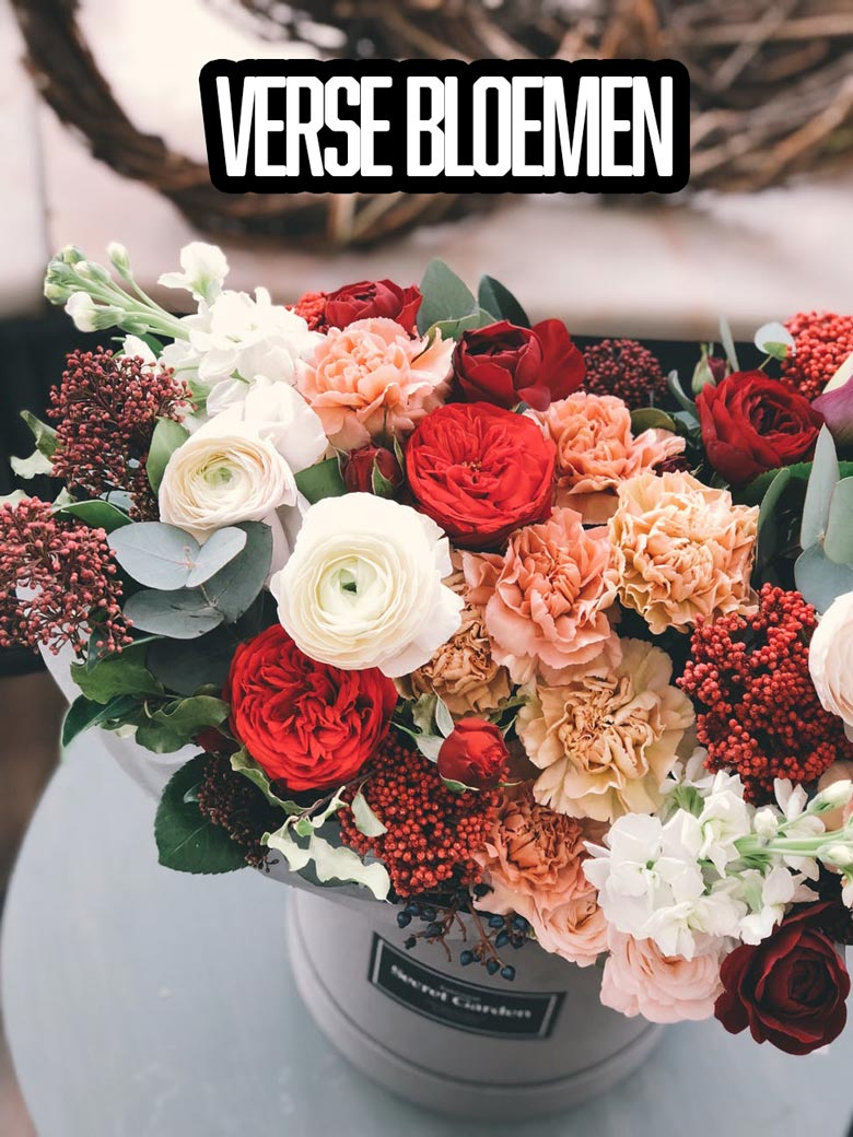 Verse bloemen abonnement