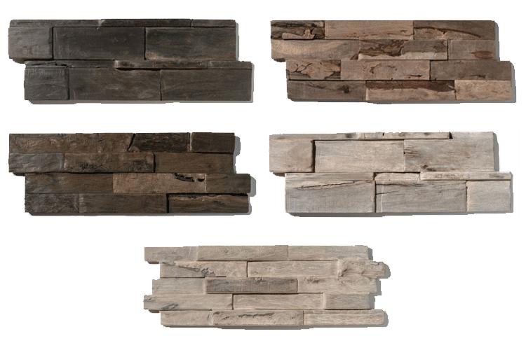 Wandpanelen driftwood