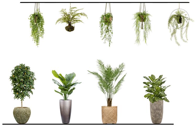 Voordelen van verschillende soorten kunstplanten