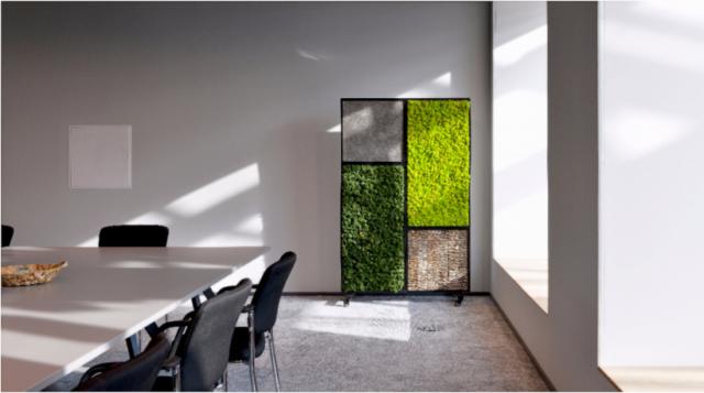 Biomontage mos afscheiding